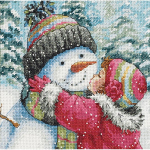 A Kiss For Snowman (18 Count)