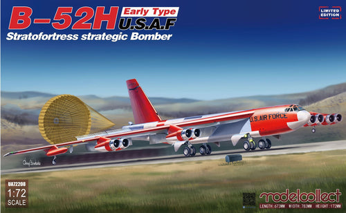 1/72 USAF B52 H Early Type Stratofortress Strategic Bomber, Limited Edition