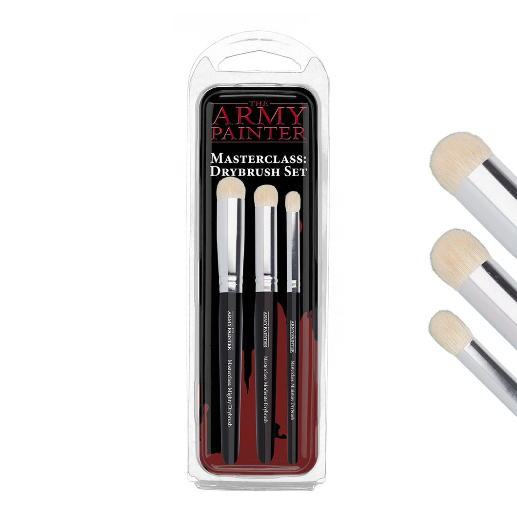 Masterclass Dry brush Set, 3 pcs - Hobby Sense