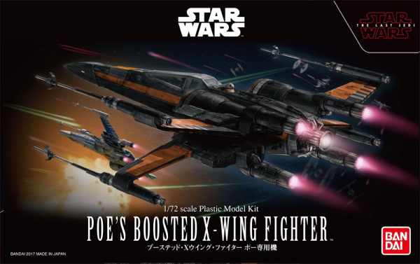 1/72 Poe's Boosted X-Wing Fighter, Star Wars