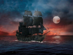 1/150 Pirates of the Caribbean, Black Pearl easy-click system
