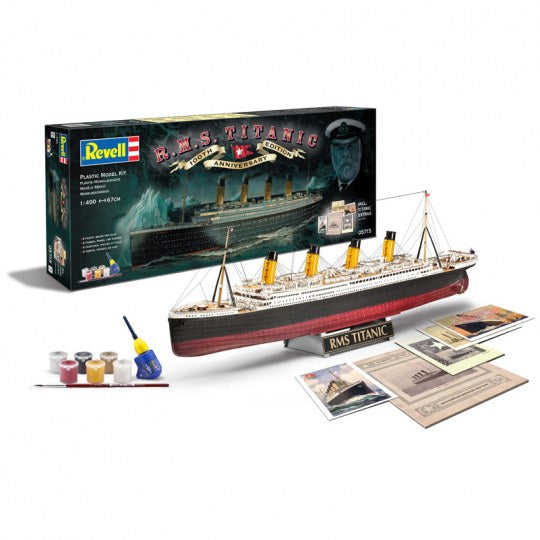 1/400 100 Years TITANIC Gift-Set