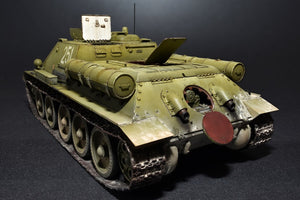 SU-85 Mod. 1943 Soviet Self Propelled Gun (Mid Production) with Full Interior - Hobby Sense