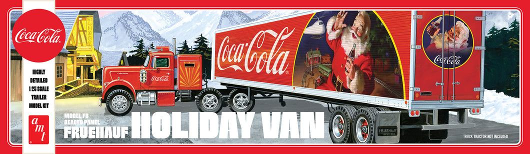 1/25 Fruehauf Holiday Hauler Semi Trailer Coca Cola