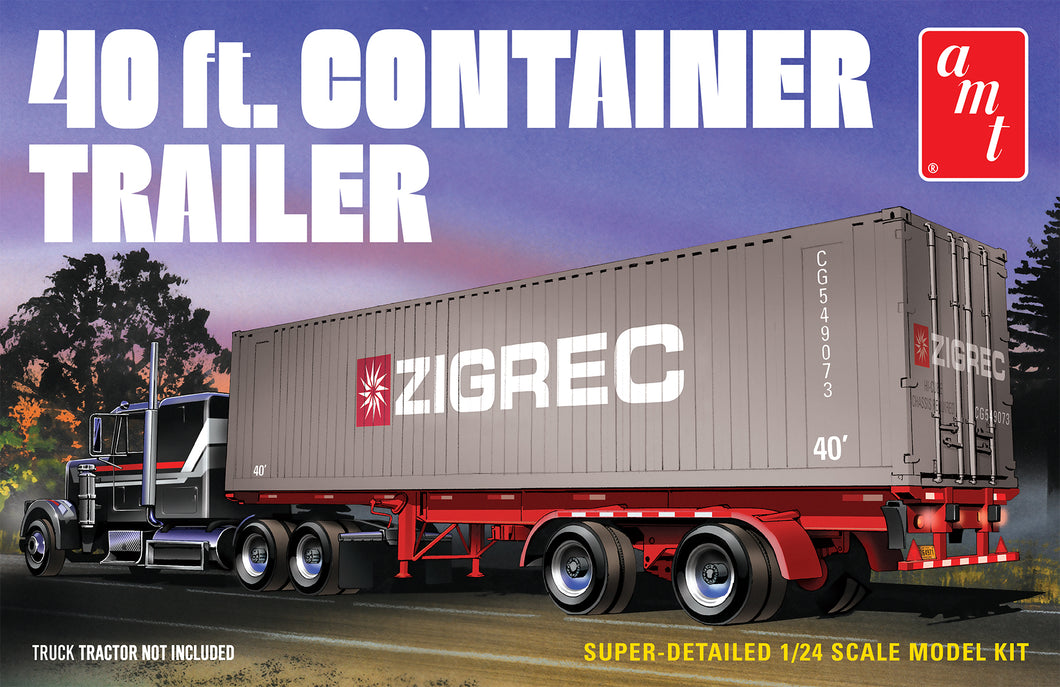 1/24 40 ft. Container Trailer