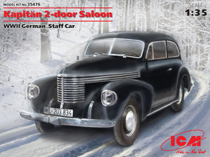 1/35 Kapitan 2-door saloon, WWII German staff car - Hobby Sense