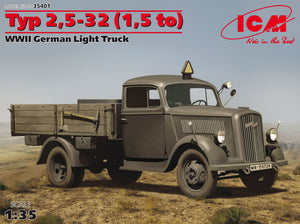 1/35 Typ 2,5-32 (1,5 to) WWII German light truck - Hobby Sense