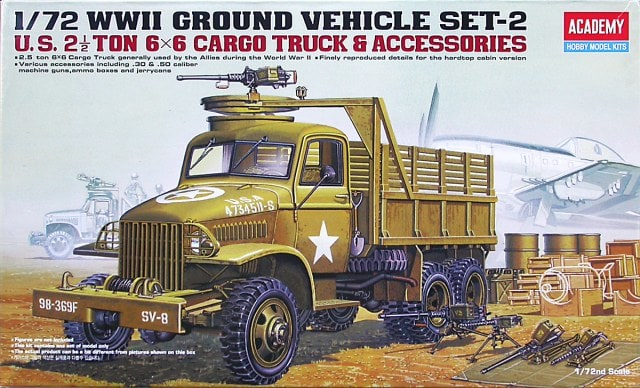 US 2.5 Ton Cargo Truck & Accessories