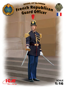 1/16 French Republican Guard Officer - Hobby Sense
