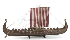 1/50 Oseberg Viking Wooden Ship