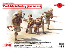 Turkish Infantry (1915-1918) - Hobby Sense