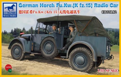 1/35 German Horch Radio Car - Hobby Sense
