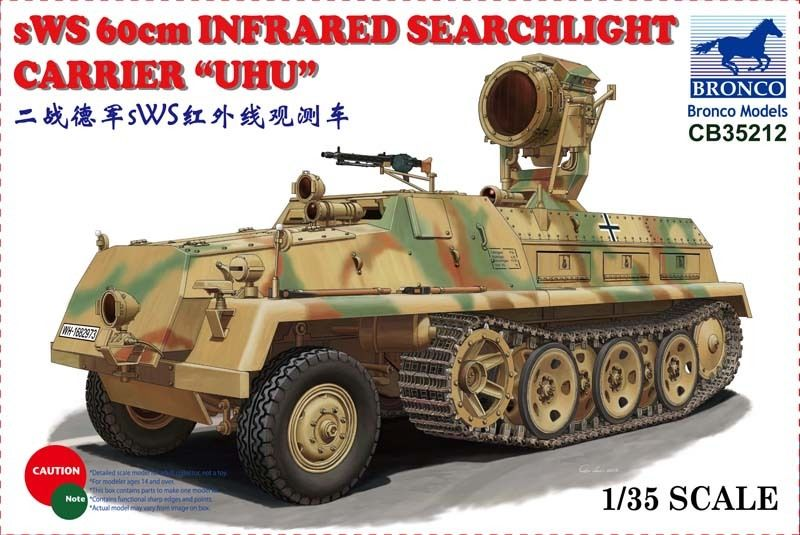 SWS 60cm Infrared Searchlight Carrier