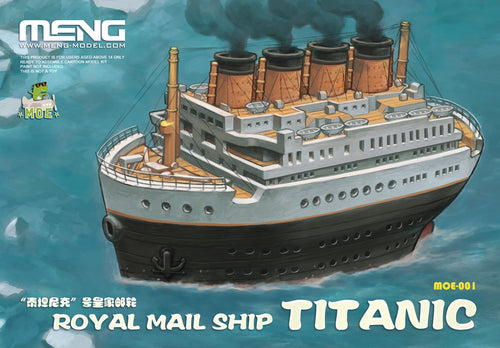 Royal Mail Ship Titanic Cartoon Model, Snap - Hobby Sense