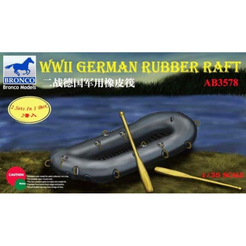 1/35 WWII German Rubber Raft - Hobby Sense