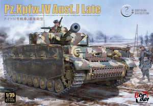 1/35 Panzer IV Last w/Workable Tracks - Hobby Sense