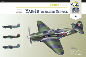 1/72 Yak-1b Allied Fighter Limited Edition - Hobby Sense