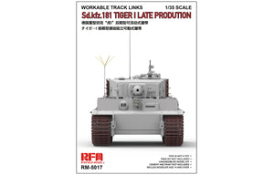 1/35 Tiger I Late Workable Track Links