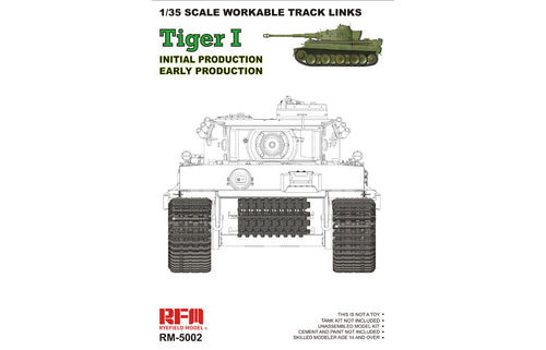 1/35 Workable Track Links for Tiger 1 - Hobby Sense