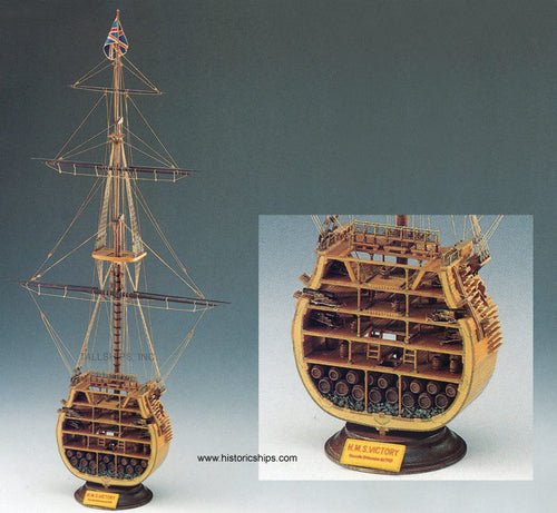 1/98 HMS Victory Cross Section