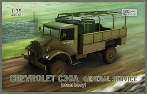 Chevrolet C30A General service (steel body) - Hobby Sense