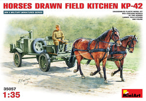1/35 Horses drawn field kitchen KP-42 - Hobby Sense