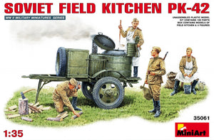 1/35 Soviet Field Kitchen KP-42 - Hobby Sense