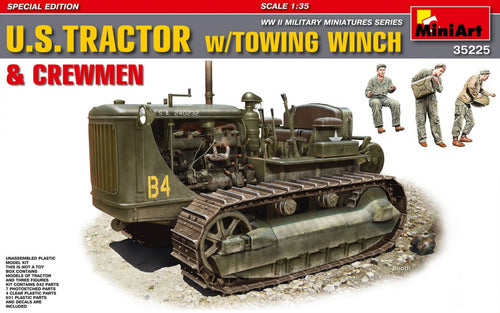 U.S.Tractor with Towing Winch & Crewmen. Special Edition