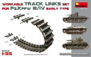 1/35 Workable Track Links for Pz.III/Pz. IV Early Type - Hobby Sense