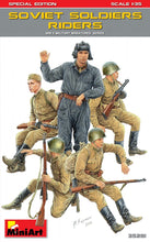 1/35 Soviet Soldiers Riders. Special Edition