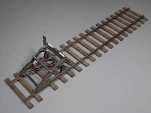 1/35 Railway Track with Dead End. European Gauge