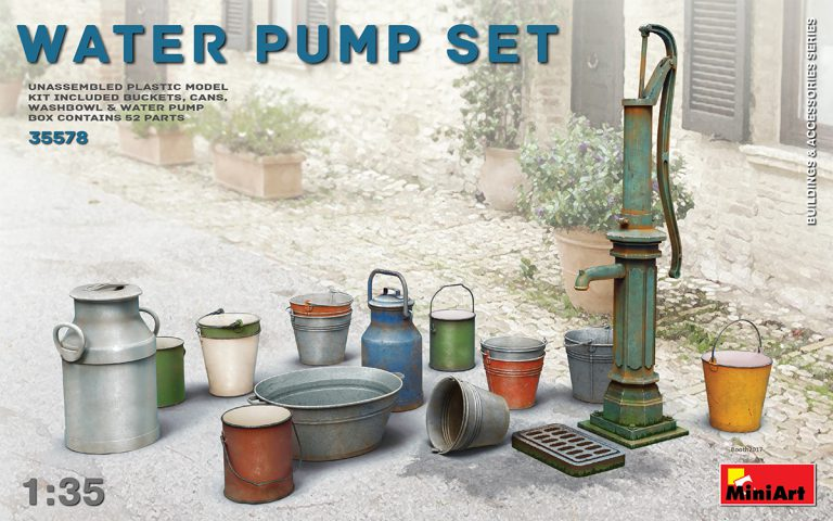 1/35 Water Pump Set - Hobby Sense
