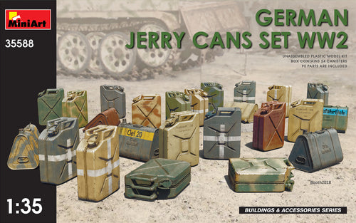German Jerry Cans Set WWII