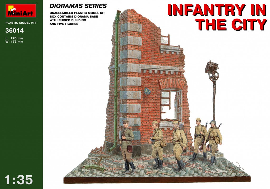 1/35 Infantry in the City - Hobby Sense