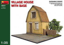 1/35 Village House with Base - Hobby Sense