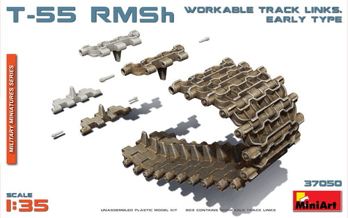 1/35 T55 RMSh Workable Track Links. Early Type - Hobby Sense