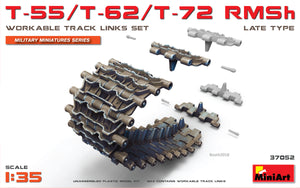 1/35 T-55/T-62/T-72 RMSh Workable Track Links Set.Late Type - Hobby Sense