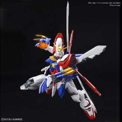 Hi Resolution Model 1/100 God Gundam