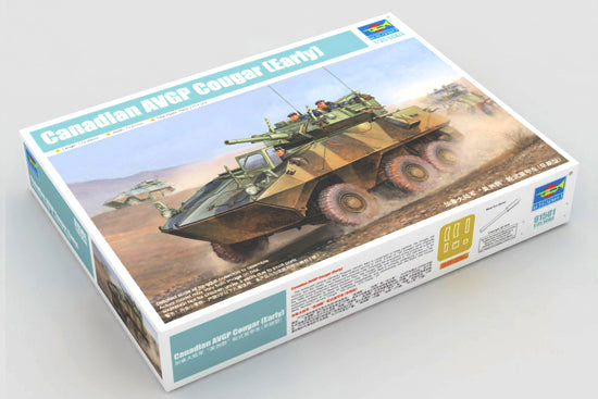 1/35 Canadian Cougar 6x6 Armored Vehicle General Purpose (AVGP)