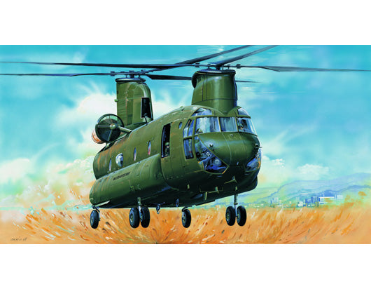 1/35 CH-47D Chinook Helicopter - Hobby Sense