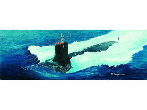 1/144 USS SSN-21 Sea wolf Attack Submarine