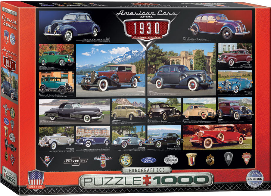 American Cars of the 1930s - Hobby Sense