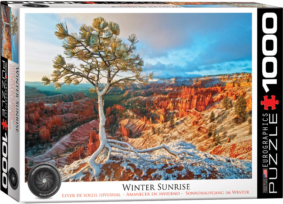 Winter Sunrise - Hobby Sense