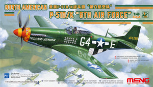 "1/48 North American P51D/K Mustang ""8th Air Force"""