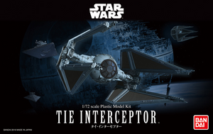 1/72 TIE Interceptor, Star Wars
