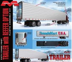 1/25 53' Trailer w/Reefer Options