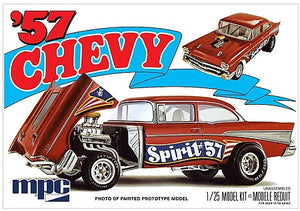 "1/25 '57 Chevy Flip Nose ""Spirit of 57"" Chevrolet"