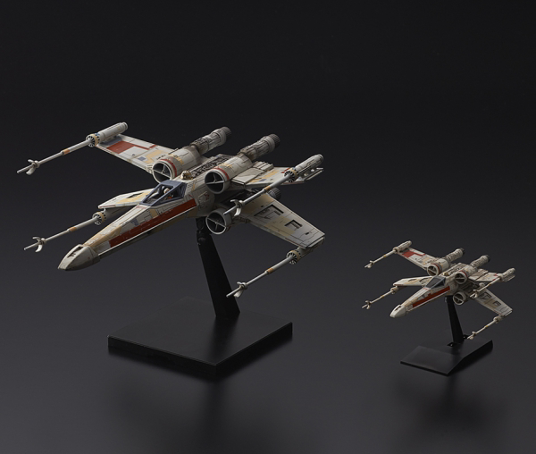1/72 & 1/144 Red Squadron X-Wing Starfighter Special Set, Star Wars