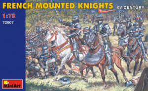 1/72 French Mounted Knights XV c. - Hobby Sense