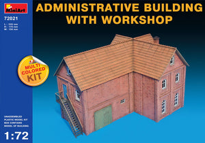 Administrative Building with Workshop - Hobby Sense